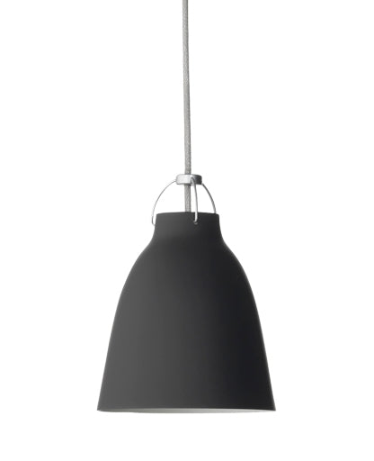 Caravaggio Matte Black Pendant Light from Lightyears | Modern Lighting + Decor