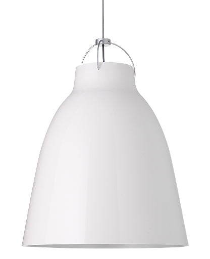 Caravaggio P4 White Pendant Light from Lightyears | Modern Lighting + Decor