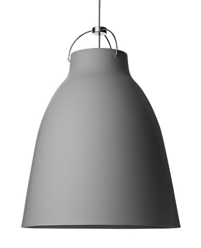 Caravaggio P4 Matt Grey45 Pendant Light from Lightyears | Modern Lighting + Decor