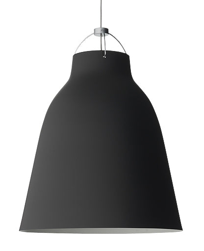 Caravaggio P4 Matt Black Pendant Light from Lightyears | Modern Lighting + Decor