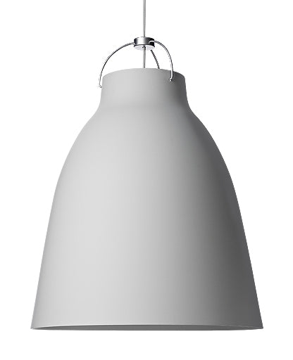 Caravaggio P4 Matt Grey25 Pendant Light from Lightyears | Modern Lighting + Decor
