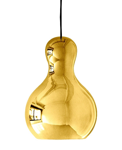 Calabash Pendant Light - Gold Chrome from Lightyears | Modern Lighting + Decor