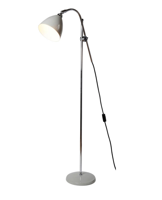 Task Floor Lamp - Putty Gery from Original BTC | Modern Lighting + Decor