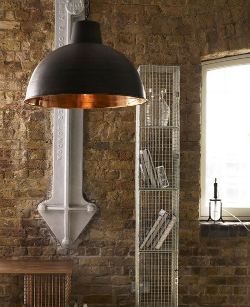 Buy online latest and high quality Spun Reflector Large Pendant Light from Original BTC | Modern Lighting + Decor