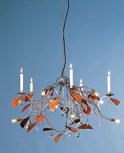 Jahreszeiten chandelier - autumn silver from Anthologie Quartett | Modern Lighting + Decor