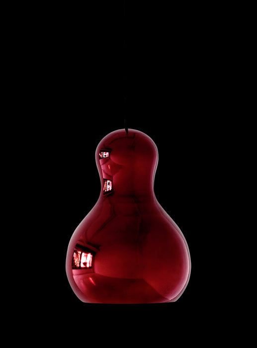 Calabash Pendant Light - Red Chrome from Lightyears | Modern Lighting + Decor
