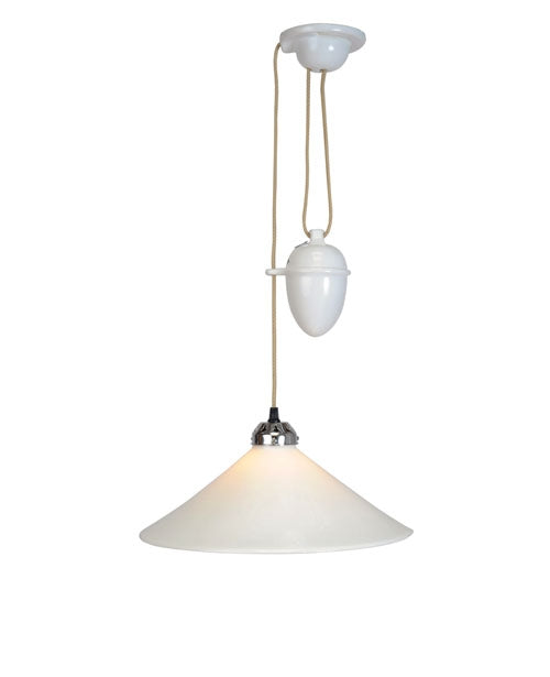 Buy online latest and high quality Cobb Rise & Fall Large Pendant Light from Original BTC | Modern Lighting + Decor