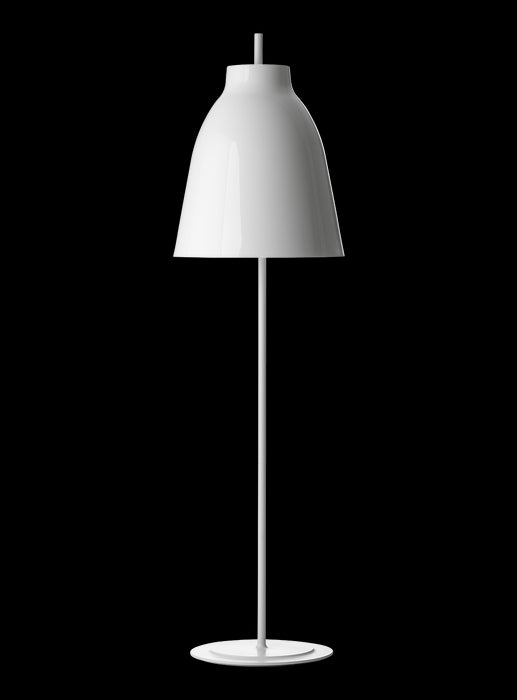 Buy online latest and high quality Caravaggio White Floor Light from Lightyears | Modern Lighting + Decor
