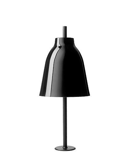 Caravaggio plug-in Black Table Lamp from Lightyears | Modern Lighting + Decor