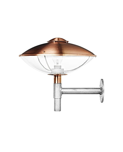 HL 410 Copper/Clear Acrylic Outdoor Wall Lamp from Lightyears | Modern Lighting + Decor