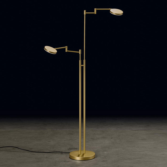 Plano Twin Floor Lamp | Modern Lighting + Decor