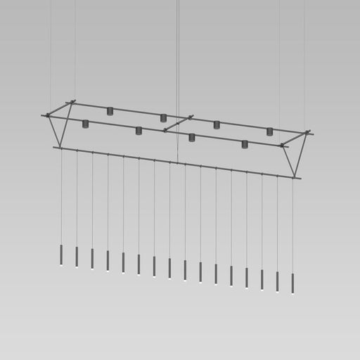 Suspenders Truss Pendant W/ Pendants And Direct Cylinders | Modern Lighting + Decor
