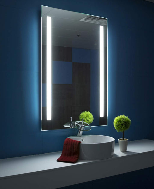 Lighted Mirror Verano 32 X 48 In from Paris Mirror | Modern Lighting + Decor