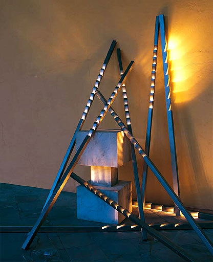 Zig Zag Floor Lamp from Terzani | Modern Lighting + Decor