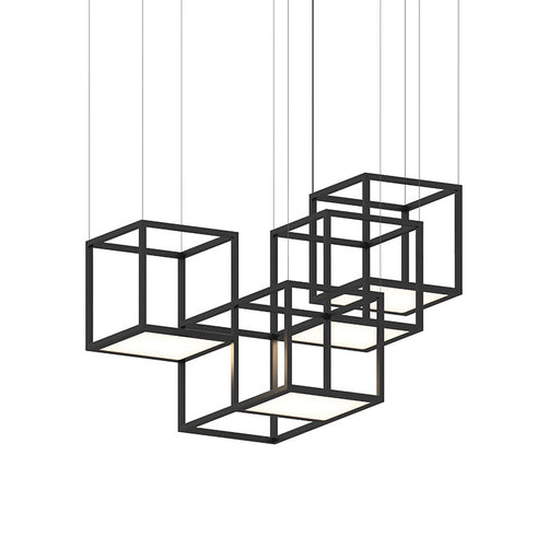 Cubix Multi-light Linear Pendant | Modern Lighting + Decor
