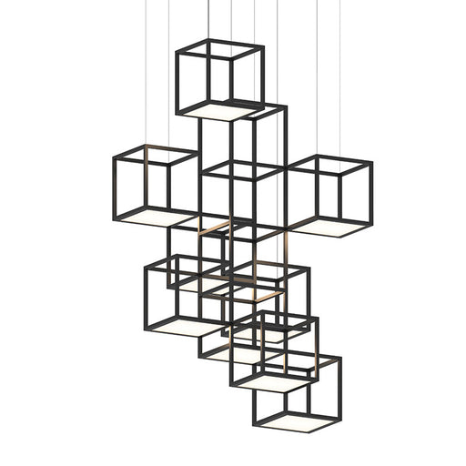 Cubix Multi-light Vertical Pendant | Modern Lighting + Decor