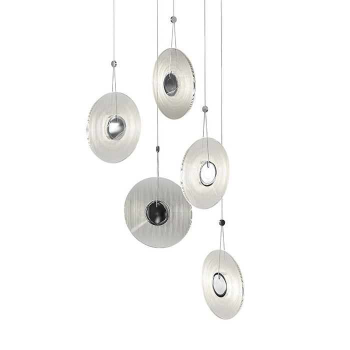 Buy online latest and high quality Meclisse Multi-light Pendant from Sonneman | Modern Lighting + Decor