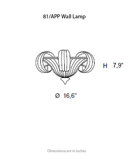 Buy online latest and high quality 81 Wall Light from ITALAMP | Modern Lighting + Decor
