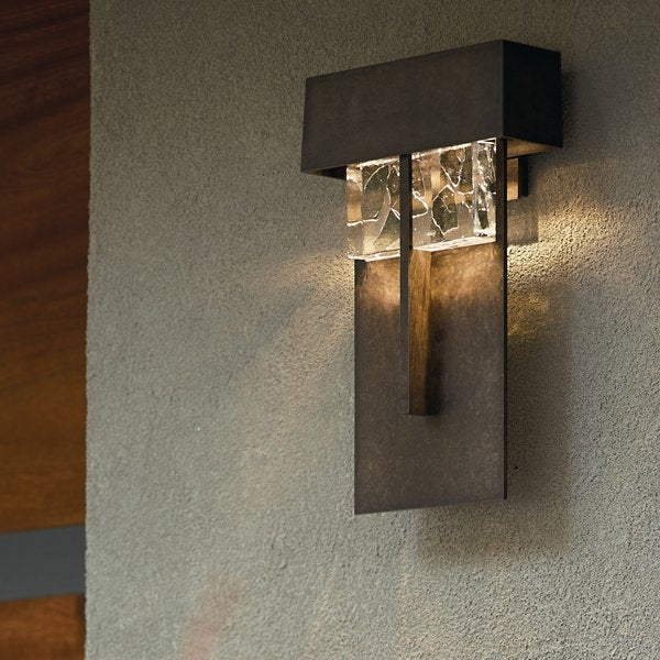 Buy online latest and high quality Shard Large LED Outdoor Wall Sconce from Hubbardton Forge | Modern Lighting + Decor