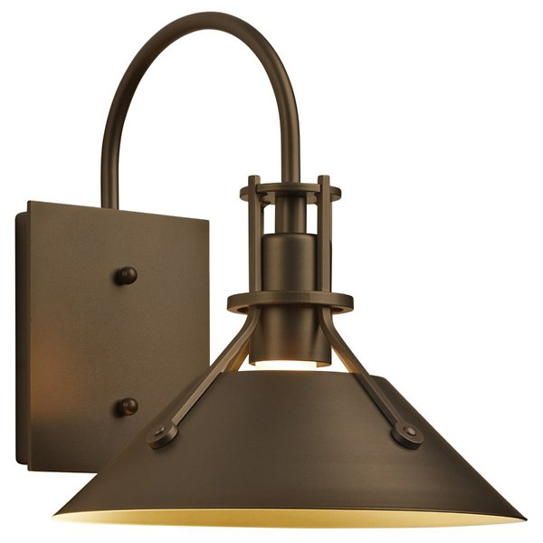 Buy online latest and high quality Henry Outdoor Wall Sconce from Hubbardton Forge | Modern Lighting + Decor