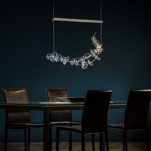 Lily Linear Suspension | Modern Lighting + Decor