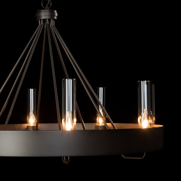 Banded Chandelier | Modern Lighting + Decor