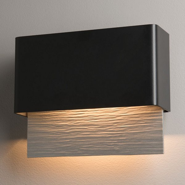 Buy online latest and high quality Stratum LED Outdoor Wall Sconce from Hubbardton Forge | Modern Lighting + Decor
