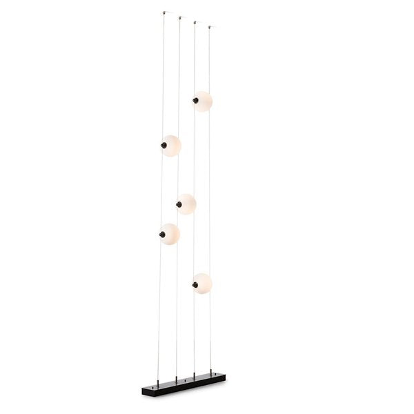 Abacus Floor to Ceiling Plug-In LED Lamp | Modern Lighting + Decor