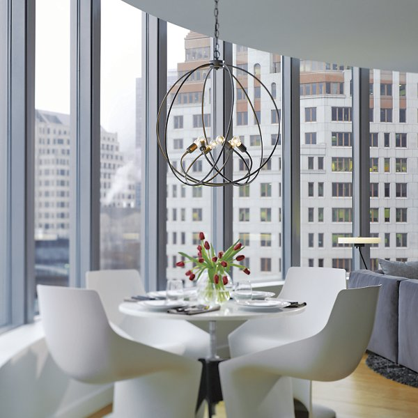 Buy online latest and high quality Orb Chandelier from Hubbardton Forge | Modern Lighting + Decor