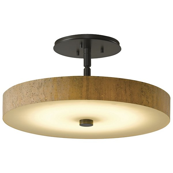 Buy online latest and high quality Disq LED SemiFlushmount from Hubbardton Forge | Modern Lighting + Decor