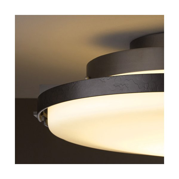 Buy online latest and high quality Metra Large LED Flushmount from Hubbardton Forge | Modern Lighting + Decor