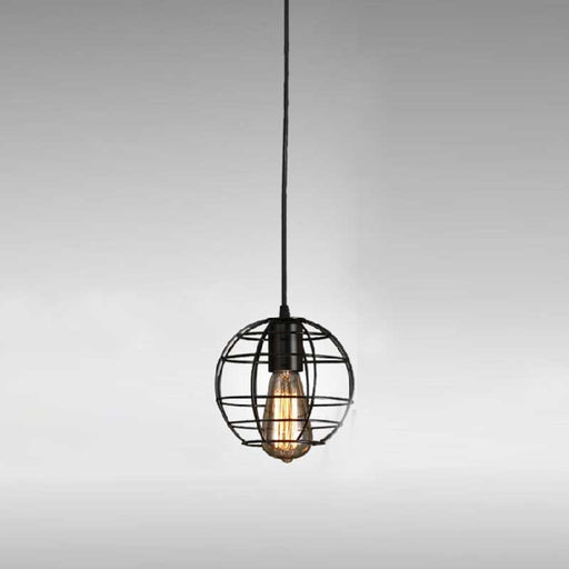 Globe Cage Pendant Light from Interior Deluxe | Modern Lighting + Decor