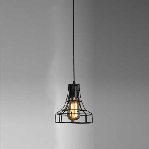 Cone Cage Pendant Light from Interior Deluxe | Modern Lighting + Decor