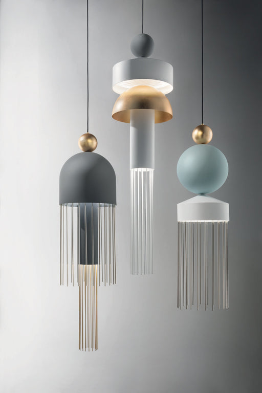 Buy online latest and high quality Nappe XL3 Suspension Lamp from Masiero | Modern Lighting + Decor