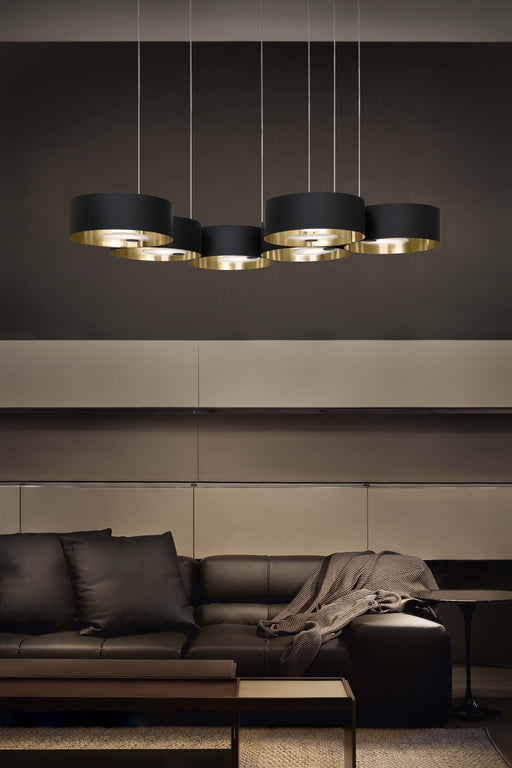 Buy Online Premium quality, modren, eligent look Sound OR6 LED Suspension Lamp - Best shop for Modern Lighting and Decor  - Interior Deluxe