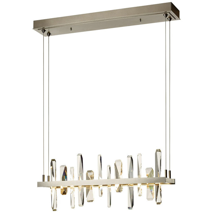 Solitude LED Linear Suspension | Modern Lighting + Decor
