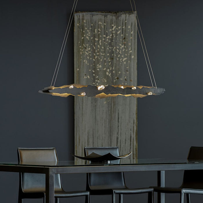 Buy online latest and high quality Trove LED Linear Suspension from Synchronicity | Modern Lighting + Decor