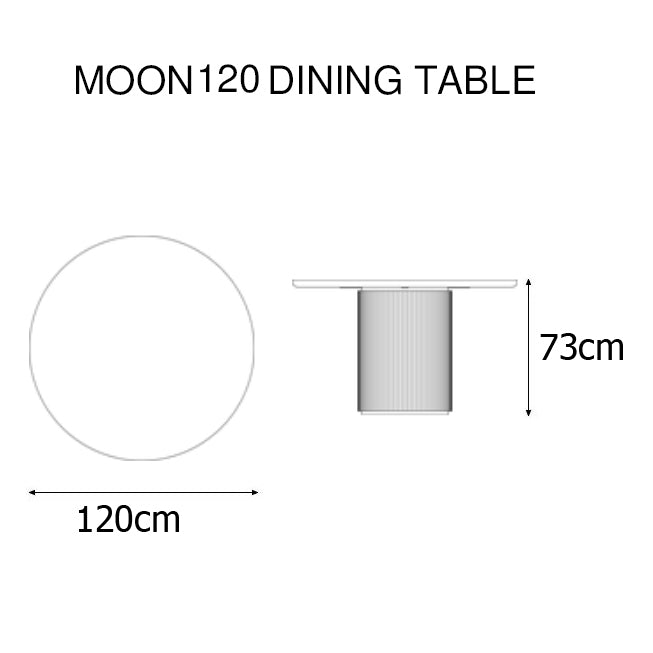 Moon 120 Dining Table