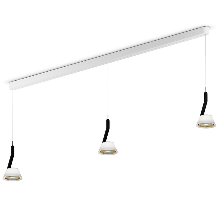 Buy online latest and high quality Lei Linea Tre 180 Iris Pendant Light from Occhio | Modern Lighting + Decor
