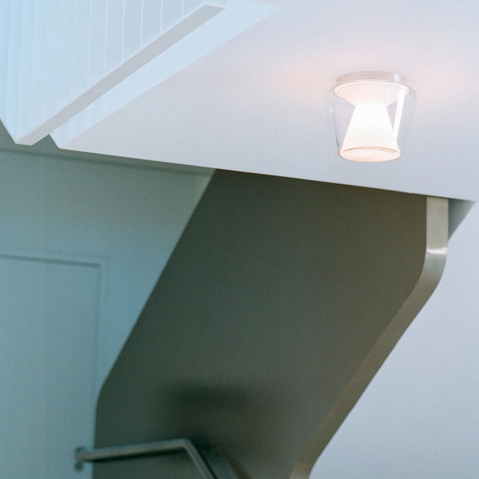 Annex L LED Ceiling Light - Clear/Opal from Serien Lighting | Modern Lighting + Decor
