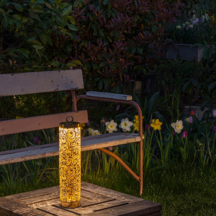Buy online latest and high quality Flambeau Outdoor Lamp from Anton Angeli | Modern Lighting + Decor