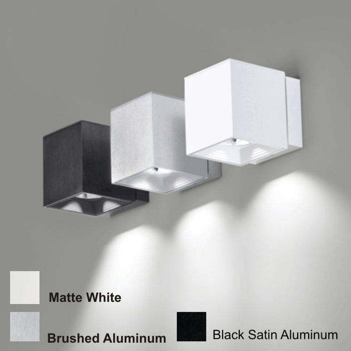 Buy online latest and high quality Dau LED 1 Light Wall Sconce - 10W from Milan by Zaneen | Modern Lighting + Decor
