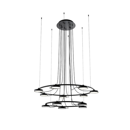 Buy online latest and high quality Aro 2-Tier Chandelier from Estiluz | Modern Lighting + Decor