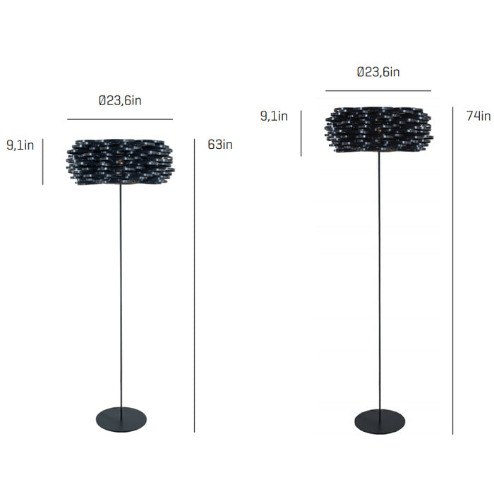 Buy online latest and high quality Aros Floor Lamp from Arturo Alvarez | Modern Lighting + Decor