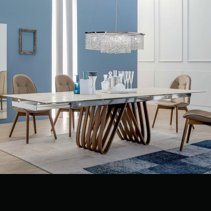 Arpha extension Table, 78-in X 43-in from Tonin Casa | Modern Lighting + Decor