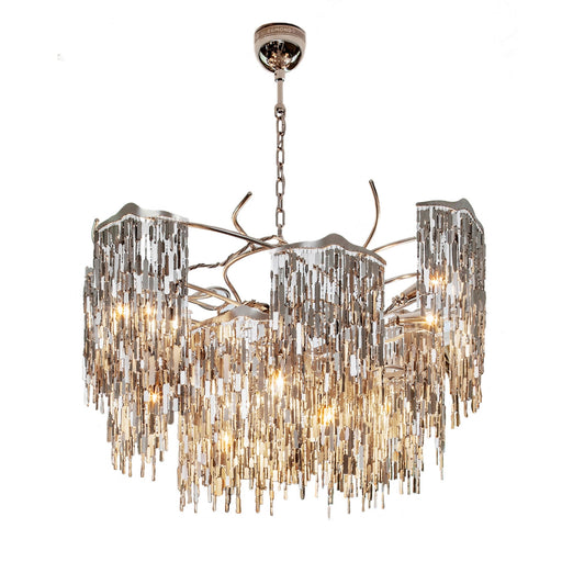 Arthur Round Chandelier from Brand Van Egmond | Modern Lighting + Decor