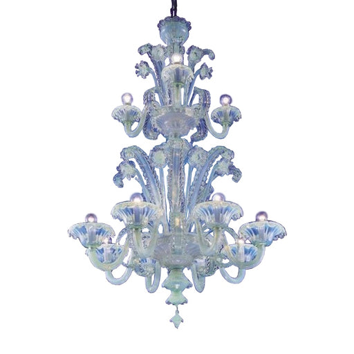Pellestrina - PELSOV12 Chandelier from Mazzega 1946 | Modern Lighting + Decor