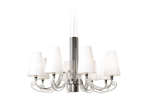 Buy online latest and high quality Arabian Pearls 8 Chandelier from Ilfari | Modern Lighting + Decor
