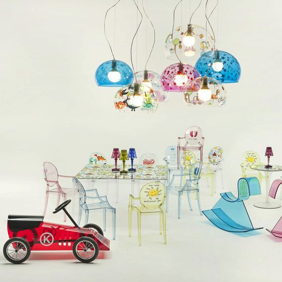 Buy online latest and high quality Invisible Table Kids from Kartell | Modern Lighting + Decor