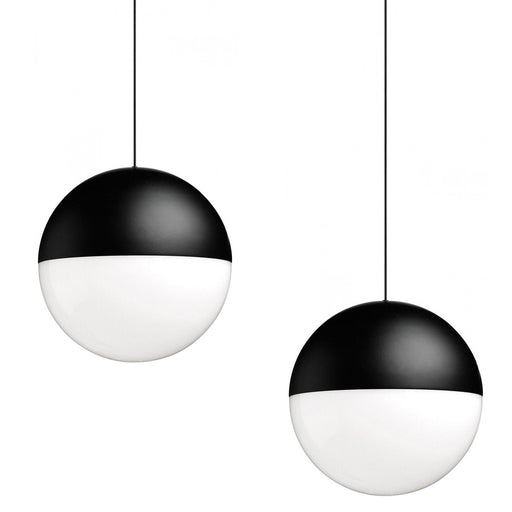 Set of 2 String Lights Round Pendant from Flos | Modern Lighting + Decor